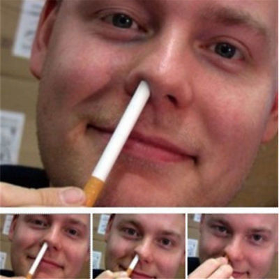 Magic Trick Disappear Cigarette Cigarettes Into The Nose Magic Props Toys - Toy Props
