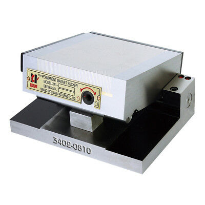 6 X 6 X 4 Fine Pole Dense Magnetic Sine Plate 3402-0810