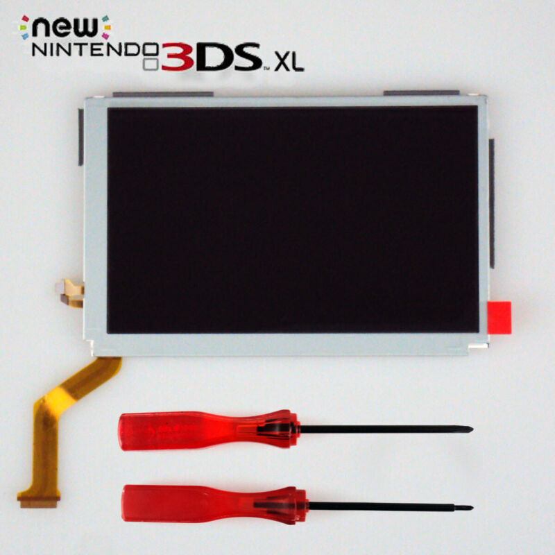 NEW OEM Replacement Top Upper LCD Screen IPS Display for 2015 NEW 3DS XL US