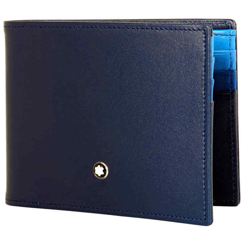 Montblanc Meisterstuck Blue Wallets 126203 126203