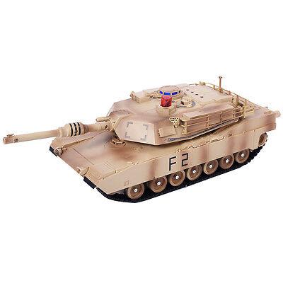 Goplus 1:14 MIA2 Abrams Remote Control RC Battle Tank Military Infrared Shooting