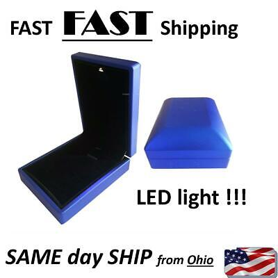 Led Lighted Necklace Box - Jewelry Box