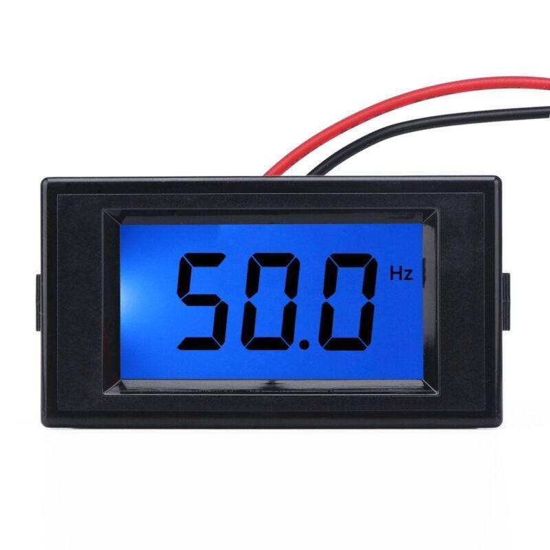 US Stock 45Hz-65.0Hz Digital LCD Display Frequency Panel Meter Gauge AC 80-300V