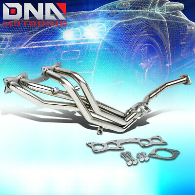 FOR 90-97 HARDBODY D21 PICKUP STAINLESS PERFORMANCE HEADER EXHAUST MANIFOLD ()
