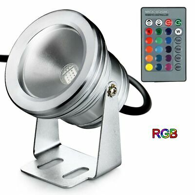 265 Projector Lamp - Waterproof LED Projector Lamp Spotlight 12V/85V-265V Warm White/ White/ RGB