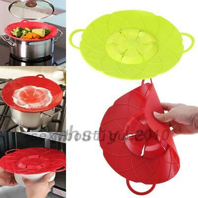 Silicone Anti-overflow Handy-Lid Kitchen Gadgets Spill Stopper Pot Cover Cooking Handy Kitchen Gadgets