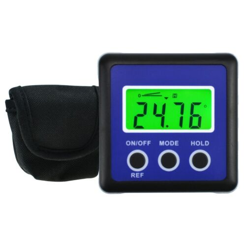 Digital Protractor Inclinometer Angle Finder Bevel Box with Magnet Base