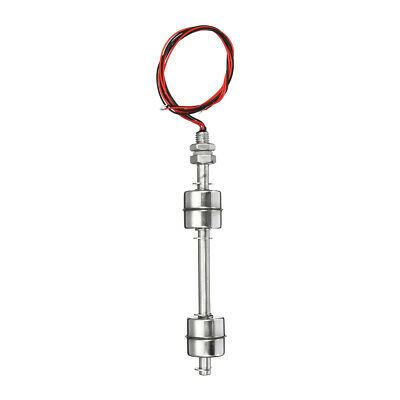 Water Tank Vertical Float Switch Stainless Steel Liquid Sensor Level Controller