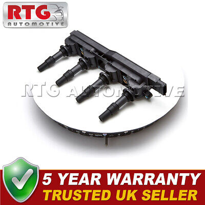 Ignition Coil Pack Fits Saab Vauxhall Opel Astra Corsa Vectra 1.8 Petrol
