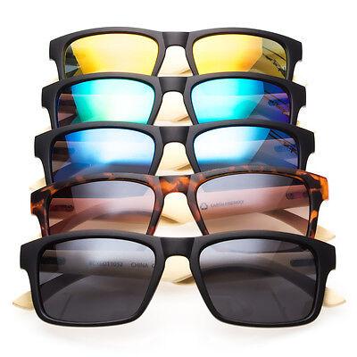 Bamboo Sunglasses Wooden Wood Arm Men Women Retro Vintage Summer Glasses Vintage