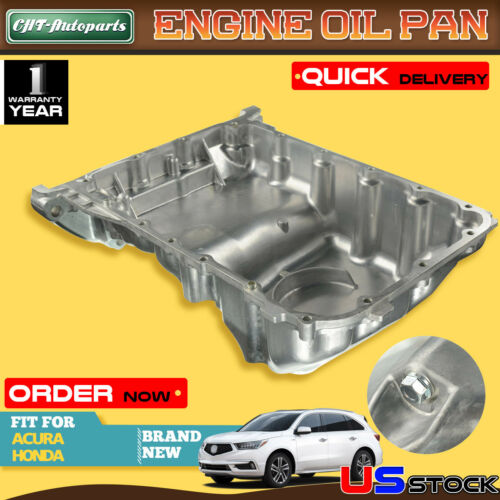 Premium Engine Oil Pan For Acura MDX RDX RL TL Honda