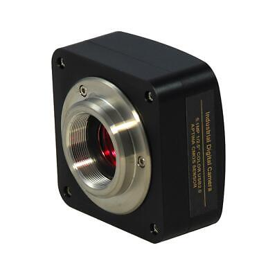5mp Usb2.0 Cmos Color Digital Microscope Camera 2k Video 60fps Pcmac