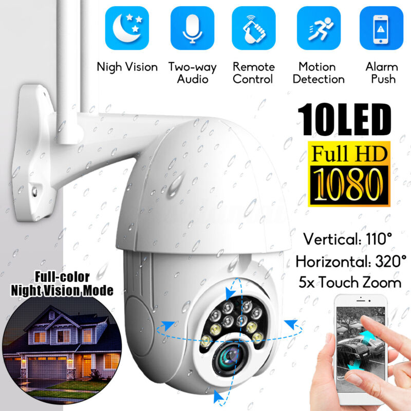 1080P Security IP Camera Video Wireless Waterproof Outdoor Home Motion  ❤ US