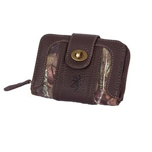 Browning Mossy Oak Countr Ladies Camo Olivia Wallet, Women's Camouflage