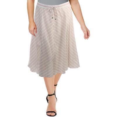 Aqua Womens Gray Plaid Pull On Mini A-Line Skirt XS BHFO 7006