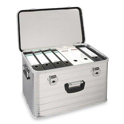 Enders Aluminiumbox TORONTO Alubox Metall Kiste Kasten Transportkiste 63 liter