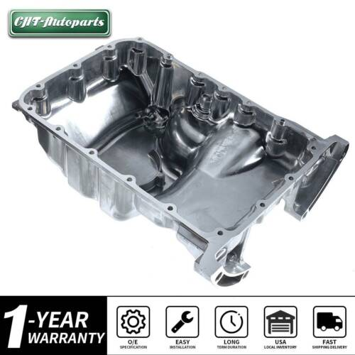 Engine Steel Oil Pan Sump 4.0LCapacity For Acura MDX TL
