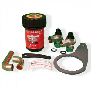 MagnaClean Micro Compact Magnetic Filter Central Heating Sludge Remover - NEW