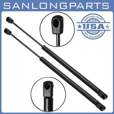 QTY2 8196035 Rear Glass Window Lift Support SG330025 For Cadillac GMC 4-Door