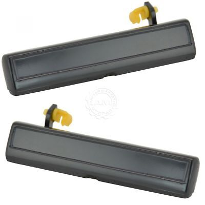 - Door Handles Outside Exterior Black Pair Set for Buick Chevy Olds Pontiac