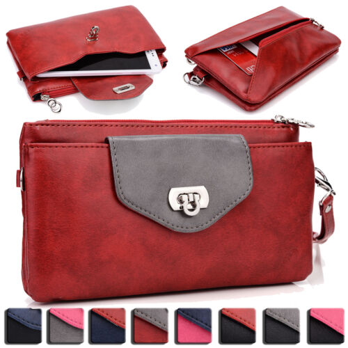 Womens Fashion Smart-Phone Wallet Case Cover & Evening Purse