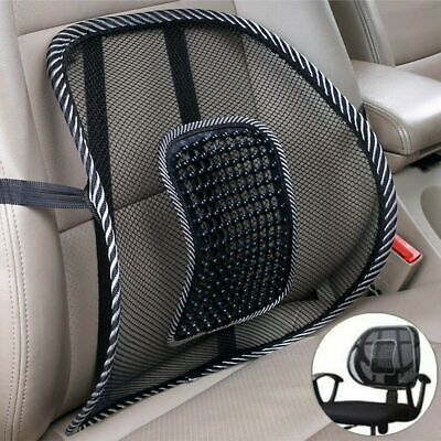 Cool Vent Cushion Mesh Back Lumbar Support Office Home Car Seat Chair Truck Seat Auto Back Support