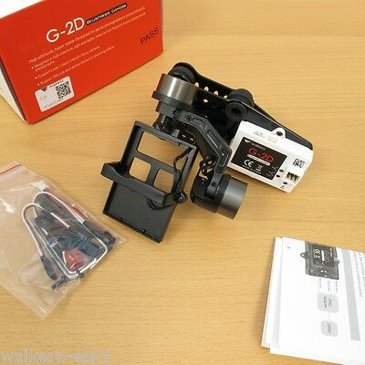 Walkera G-2D Brushless Gimbal(metal understanding) for iLook/GoPro 3 on X350 PRO -USA