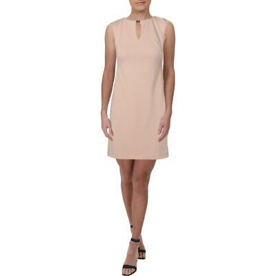 Lauren Ralph Lauren Womens Pink Sleeveless Cocktail Dress Petites 2P BHFO 0035