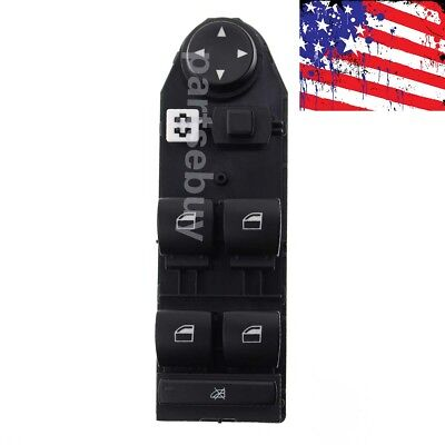 Driver Window Lifter Mirror Control Switch for BMW X3 2.5si 3.0si 2.5i 3.0i 4WD