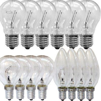 Glühbirne Glühlampe 25 40 60 75 100 Watt Glüh Lampe Birne Kerze Kugel E27 E14 - Glühlampe Kugel Birnen