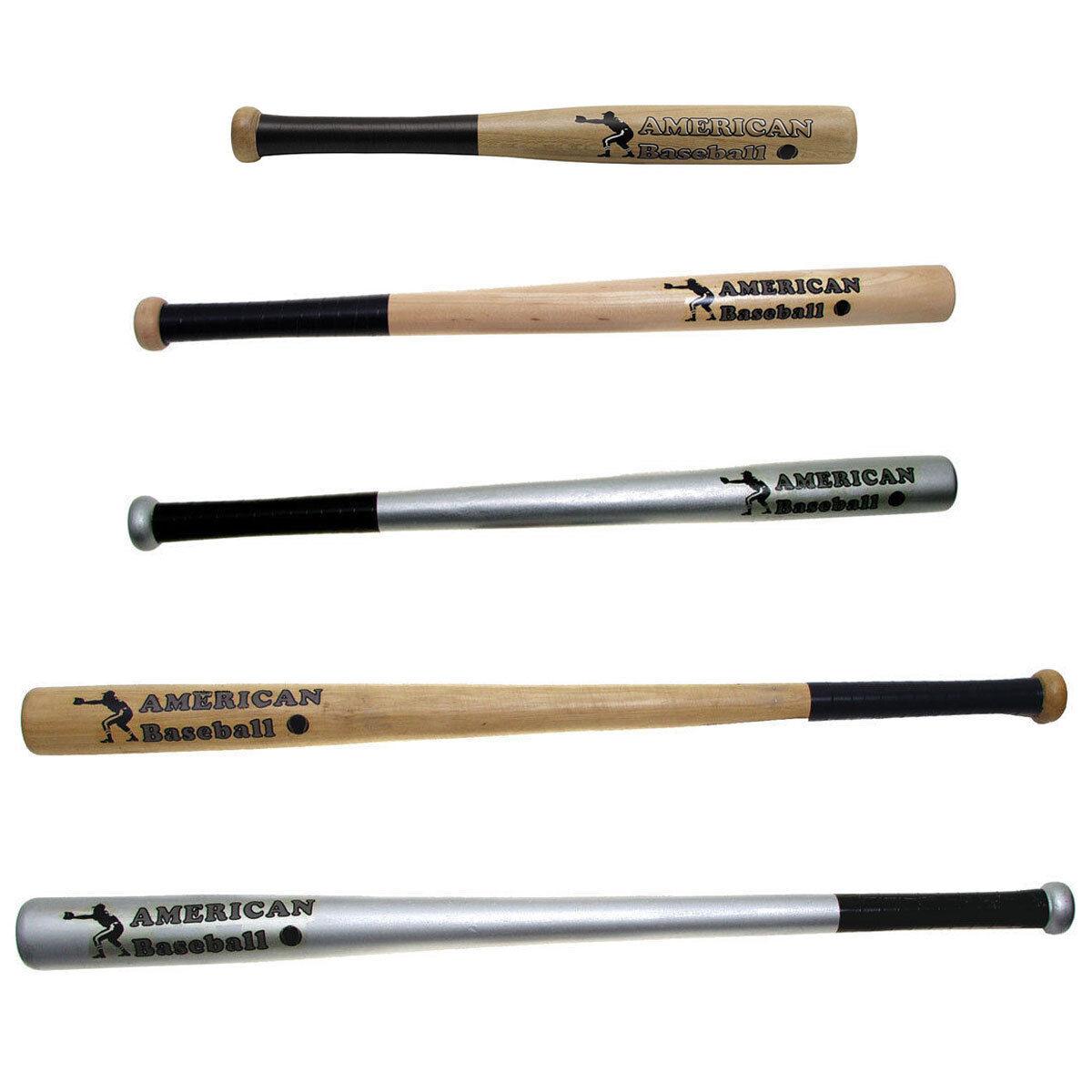 American Baseballschläger Holz 18, 26, 32 Zoll Baseball BAT Schläger Softball