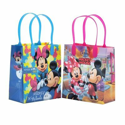 Candy Party Bags (Mickey and Minnie Mouse Birthday Party Favor Goodie Gift candy Loot Bags)