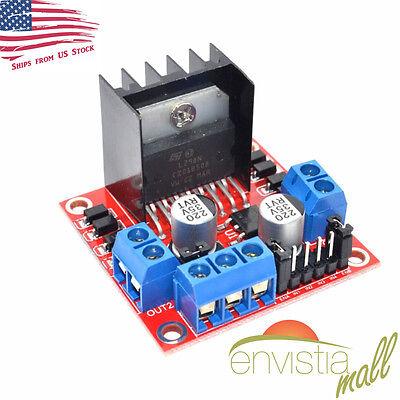 Dual H Bridge L298n Pwm Stepper Motor Drive Controller Board Module Arduino Us