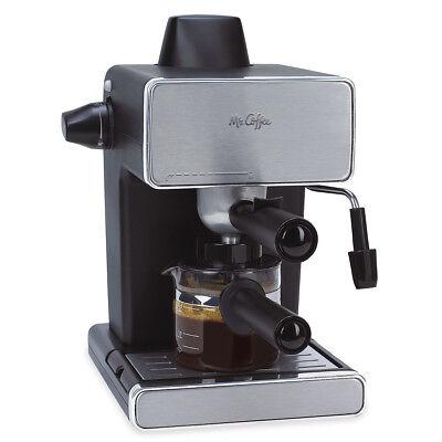 Mr. Coffee Steam Espresso & Cappuccino Maker, BVMC-ECM260-RB