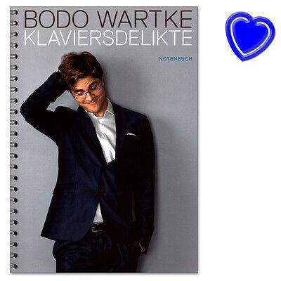 Bodo Wartke Klaviersdelikte - Reimkultur - RKMV523413 - 9790900001924
