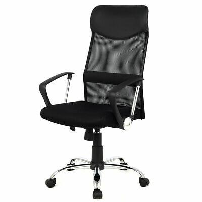 High Back Executive Computer Desk Task Office Chair Black Modern Ergonomic Mesh