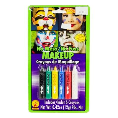 Rubie's Costume Co No Mess-No Fuss Makeup Crayons