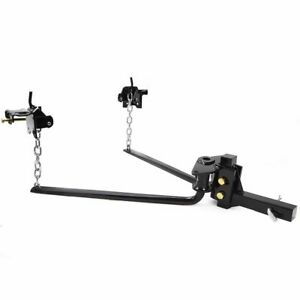 10000 lb Weight Distribution Equalizer sway control Trailer Towing Hitch bar