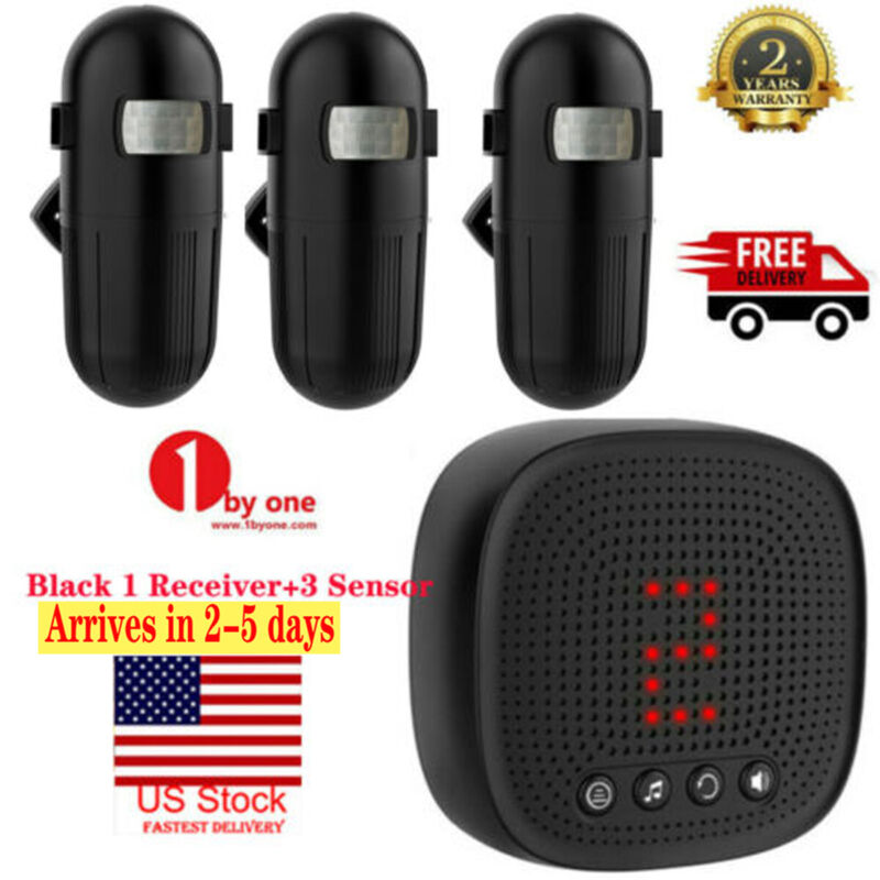 1000ft Home Security Wireless Driveway Alarm Motion Sensor Detector Thanksgiving