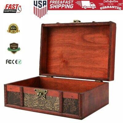 Jewelry box Memory Box Vintage box Vintage Pyrography box Home decor Retro box Vintage handmade wooden box Vintage wooden box