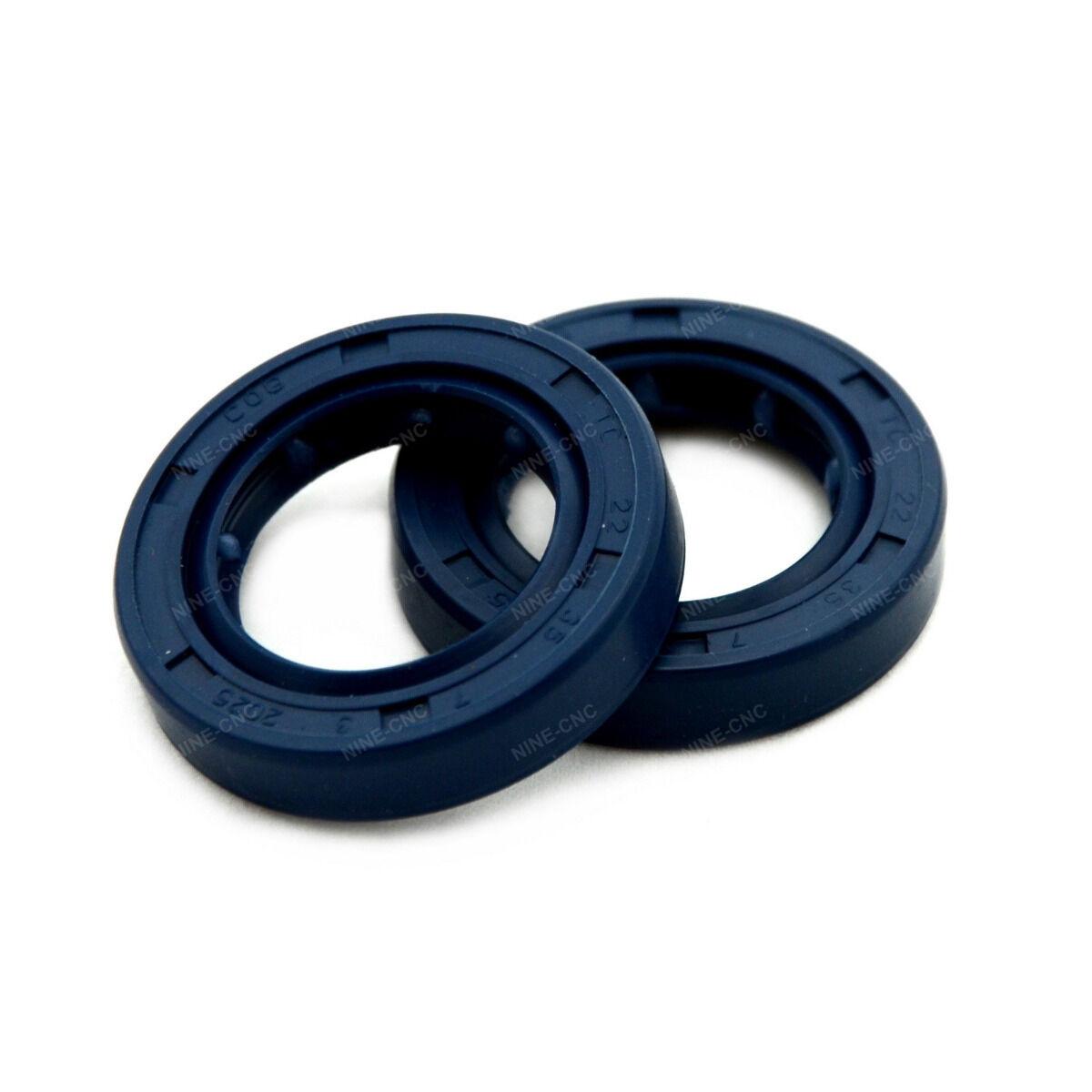 Shaft oil seal tc rubber double lip mm