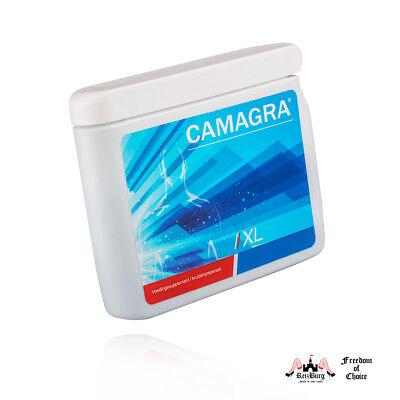 (38,42€/100gm) Camagra XL Erektionspillen  60St./70gm, Luststeigernde Kapseln