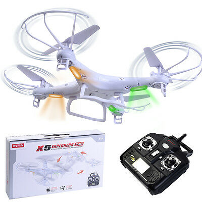 White 360° Syma X5 Explorers 4CH RC Quadcopter Remote Control 6-Axis Gyro Drone