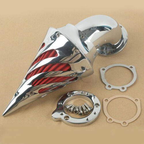 Evo Air Cleaner : Chrome spike air cleaner intake filter for harley s evo