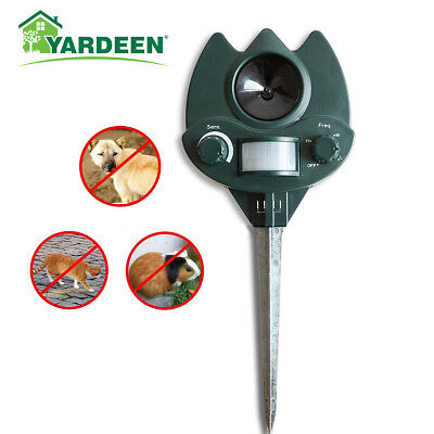 Ultrasonic Animal Repeller Dog, Cat Repellent for Home/Garden Pest Repeller
