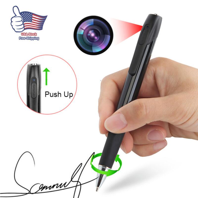 Spy Hidden Camera Pen Recorder 1080P HD Security Mini Portable Pocket Body Cam T