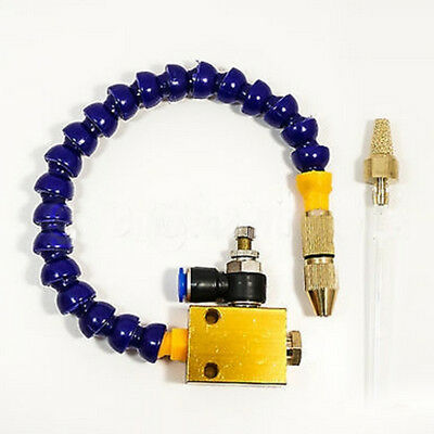 Mist Coolant Lubrication System for CNC Lathe Mill Drill Machine 8mm Air Pipe #B ()