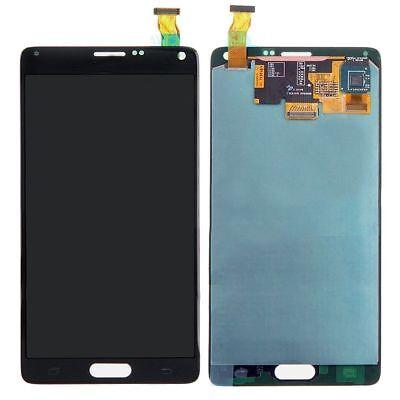 Sbi Fr Samsung Galaxy Note 4 Black N910a N910 Lcd Display Digitizer Touch Screen