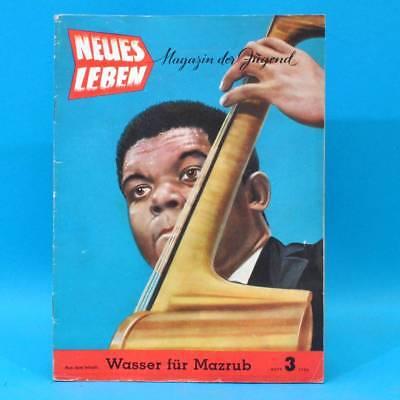 DDR Neues Leben 3/1956 Simone Signoret FDJ Rechenmaschine Oprema ATA imi