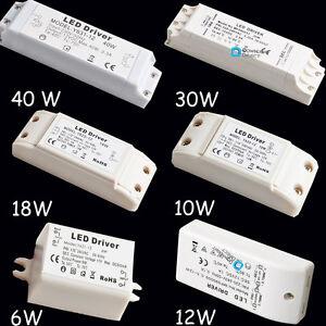 12V-6W-10W-12W-18W-30W-40W-LED-MR11-MR16-Light-Driver-Power-Supply-Transformer